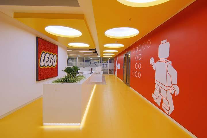 創意與進步的思想濃郁的辦公空間設計