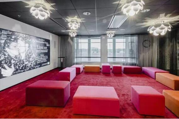電影大咖成為各個會議室設計的主題