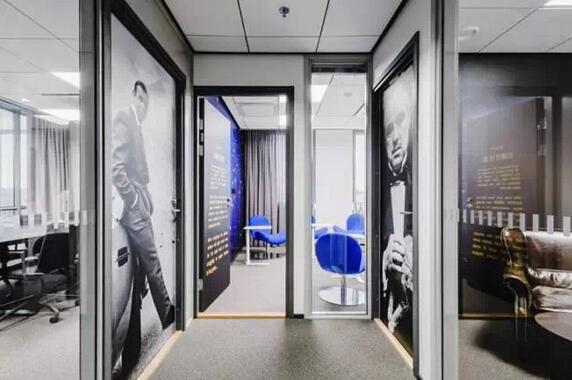 影視明星構築的綠色個性辦公空間