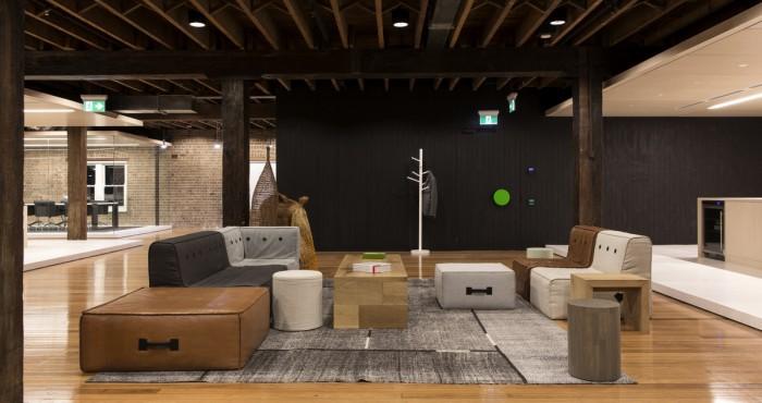 開放的辦公空間設計布局
