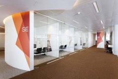 金鹰大厦880平办公室装修设计图片