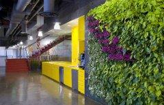 汇商大厦1200平办公室装修设计案例