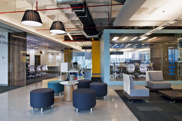 办公室装修案例 書中自有黃金屋:被書香環繞的辦公室空間設計