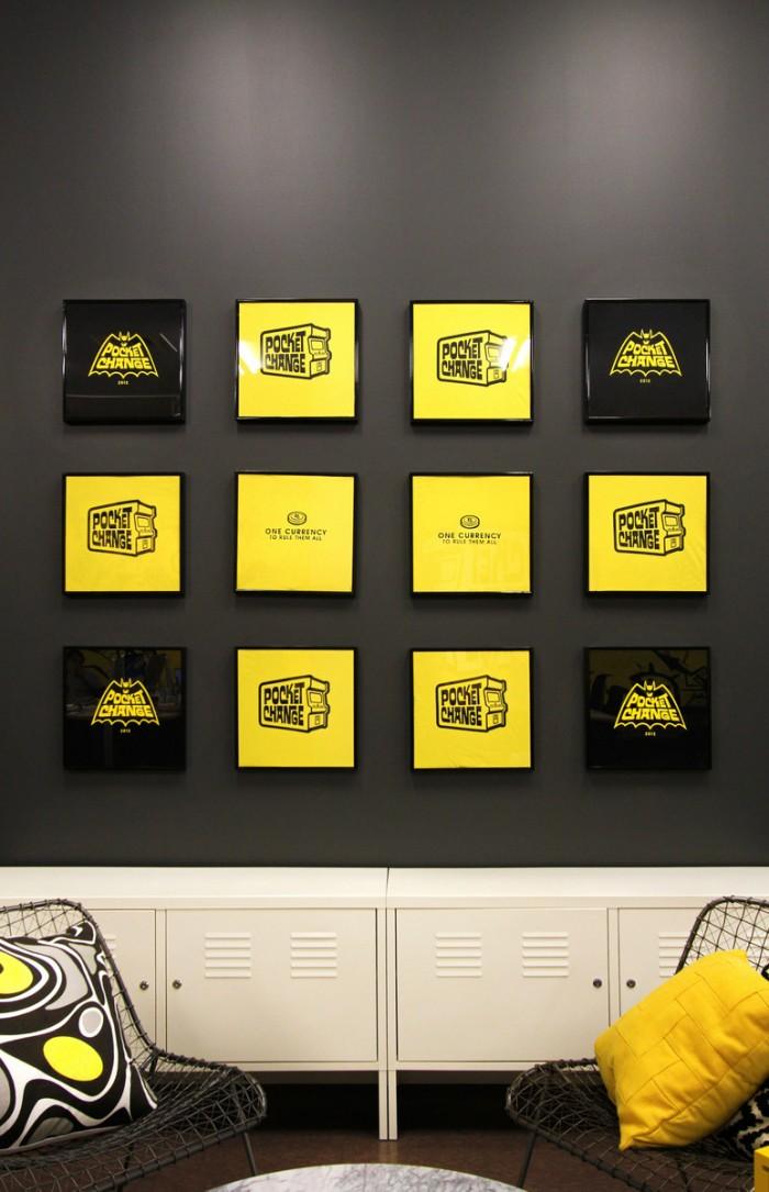 办公室装潢图片 大膽熱情、博人眼球:來自PocketChange的辦公室設計案例