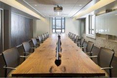 开放式办公室效果图_华能联合大厦办公室设计
