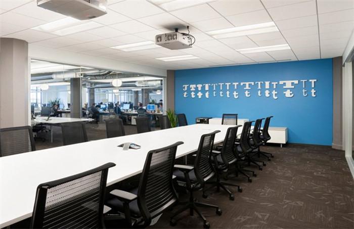 办公室设计效果 當簡約時尚碰上古老寫字樓Twitter全球總部辦公空間設計賞析