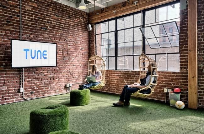 办公室设计效果 把遊樂場帶進辦公室的設計Tune公司三藩市辦事處