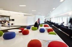 宏嘉大厦750平办公室装修案例