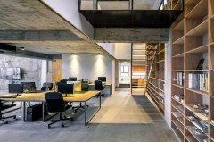 国际信贸大厦690平办公室装潢图片