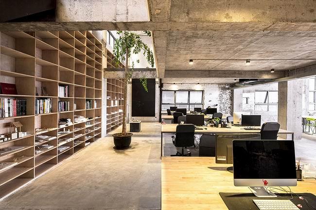 办公室装潢图片 回歸本質,從起點出發:上海蛇口舊街工業風辦公室設計