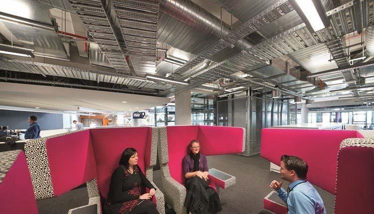 办公室设计效果 環保可持續發展設計:新西蘭ASB銀行總部辦公樓設計賞析
