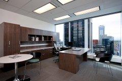 开放式办公室设计-办公楼装潢效果图