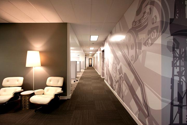 上海写字楼装潢- 石油行業主題辦公空間,TeineEnergy公司辦公設計方案