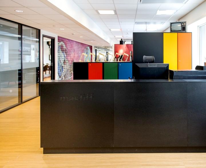 上海办公楼装修- 年輕無極限,挪威Mastiff公司辦公設計專案