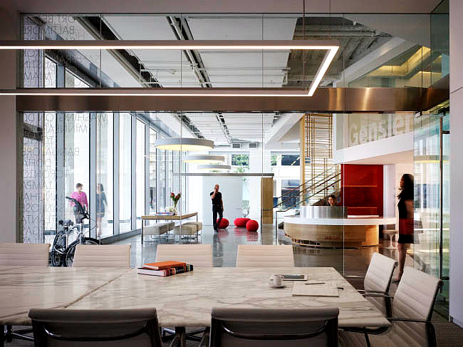 上海写字楼装修- 多功能辦公設計Gensler橘子郡辦公室設計