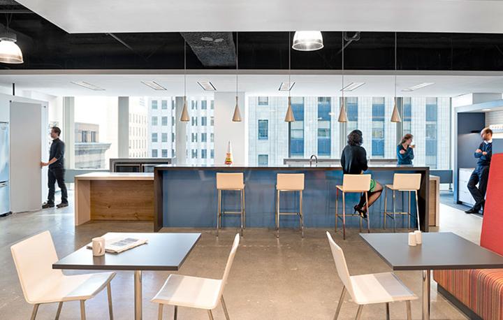 上海办公楼装修- 玩轉辦公色彩,BrunswickGroup辦公空間設計專案