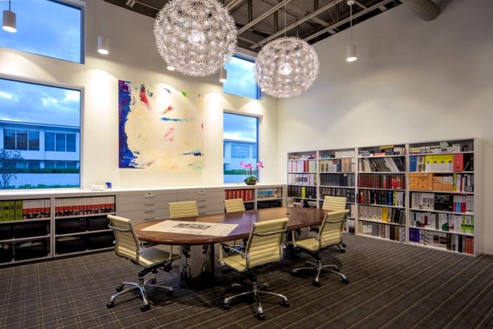 上海写字楼装潢- 現代趣味藝術辦公室設計,美國GliddenSpina+Partners辦公室設計