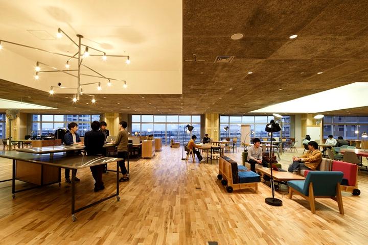 上海写字楼装修- 現代開放式辦公空間,日本KOIL辦公設計案例