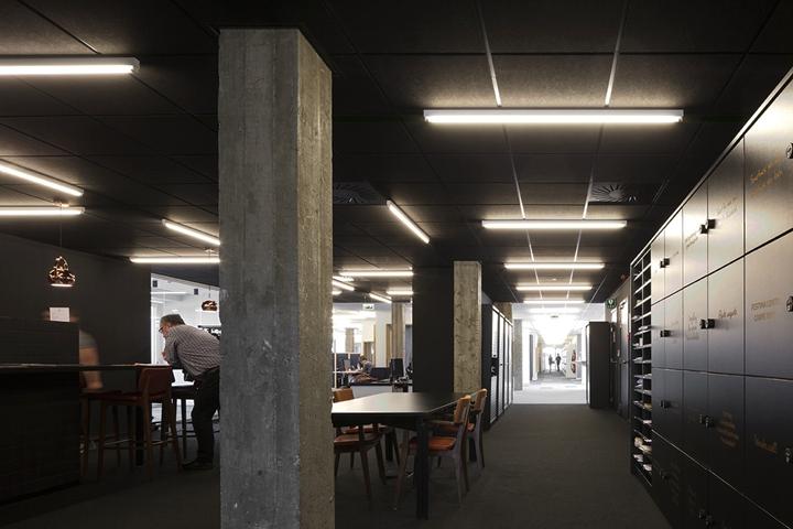 上海写字楼装潢- 融入自然中辦公,比利時梅赫倫辦公樓設計案例
