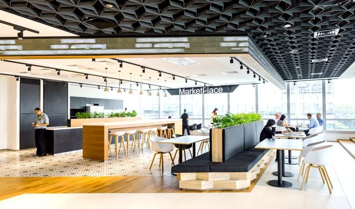 上海办公楼装修- 功能集合辦公設計,新加坡證券交易所