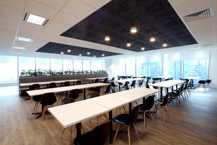 上海写字楼装修- 花園式現代輕工業辦公空間,Booking.com公司辦公設計案例