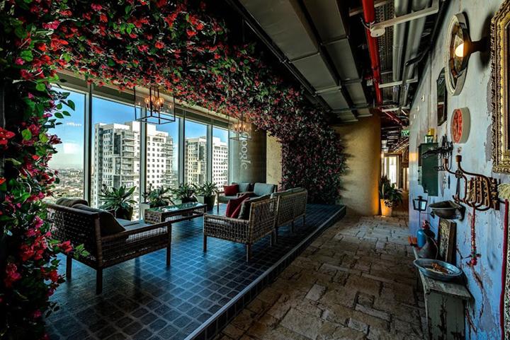 上海写字楼装修- 多主題場景辦公空間設計,特拉維夫谷歌辦公室案例