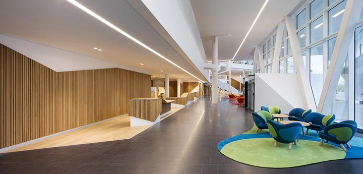 上海写字楼装潢- 北歐式簡約辦公設計,瑞典銀行大樓案例