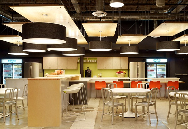 上海办公楼装修- 不輸Google的辦公色彩設計,Skype加州PaloAlto的辦公室案例