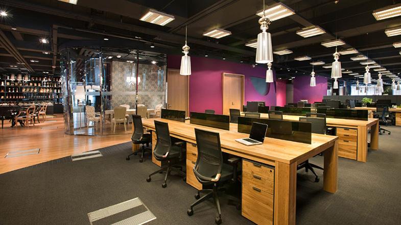 上海写字楼装潢- 智威湯遜(JWT)上海辦公空間設計