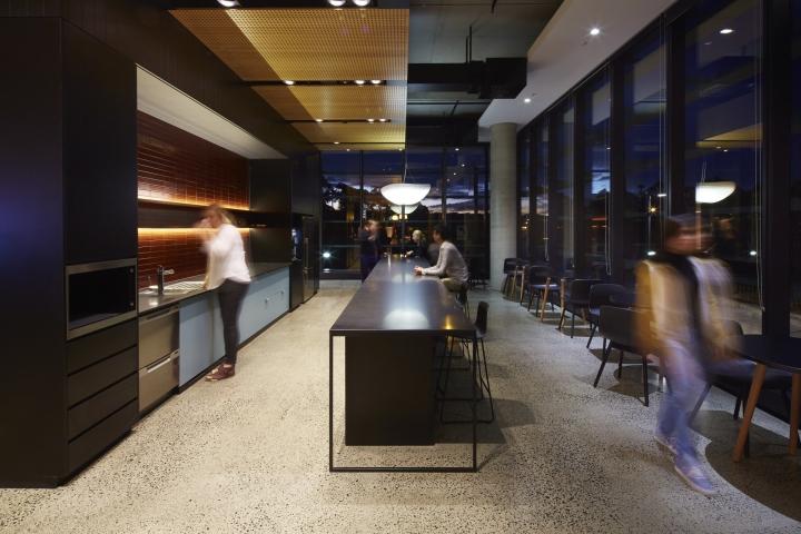 上海写字楼装潢- 灵活协作式办公空间,澳大利亚富士通总部办公室