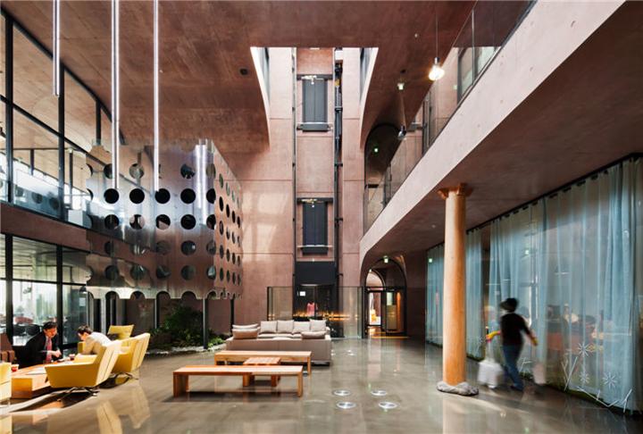 上海写字楼装修- 空間主體規劃,DAUM韓國總部大樓