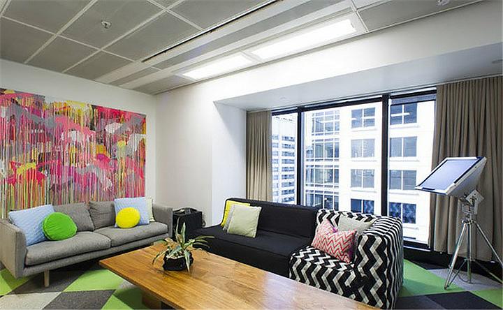 上海写字楼装潢- 以人为本的Facebook澳大利亚悉尼办公空间设计