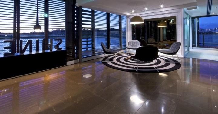 上海写字楼装潢- 低调而优雅的悉尼SHINE公司办公空间设计