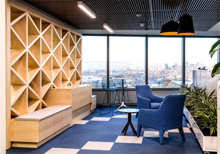 上海写字楼装潢- 澳大利亚自来水公司CityWestWater的办公室设计