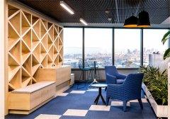 上海奉贤1500平米办公室装修设计图片