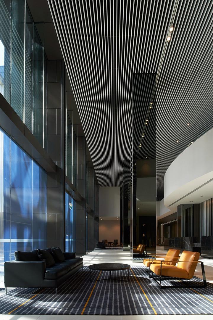 上海写字楼装修- 黑白基調,靈動空間:悉尼國家郵局辦公室