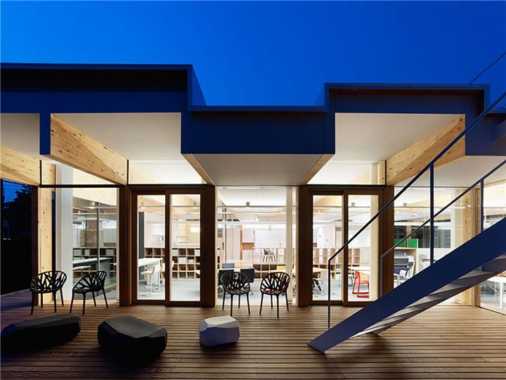 上海写字楼装修- 日本DEN-EN办公室设计:如豪宅般的舒适