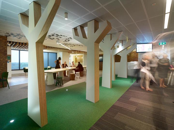 上海写字楼装潢- 花园式的澳大利亚Lion公司办公设计