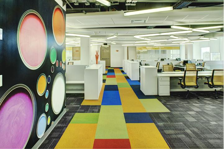 上海办公楼装修- 不拘一格的BASF公司办公空间设计