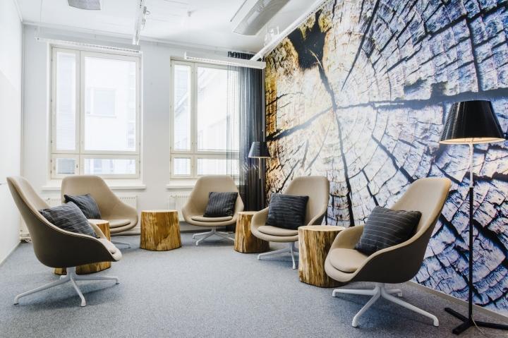 上海写字楼装潢- 赫尔辛基:高效与优雅并存的办公空间设计