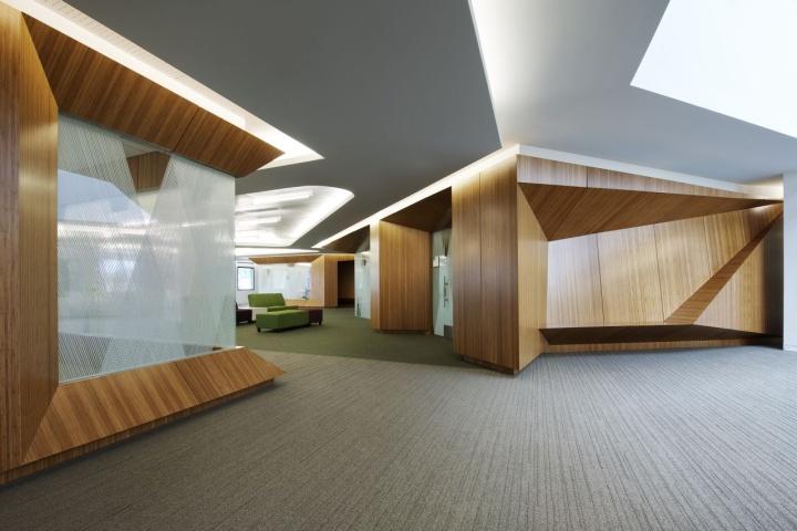 上海写字楼装潢- 美国莱特州立大学招生服务中心办公设计