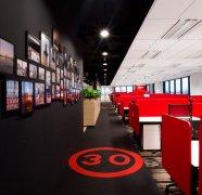 <b>上海办公楼装潢-旅游网络公司办公室设计效果</b>
