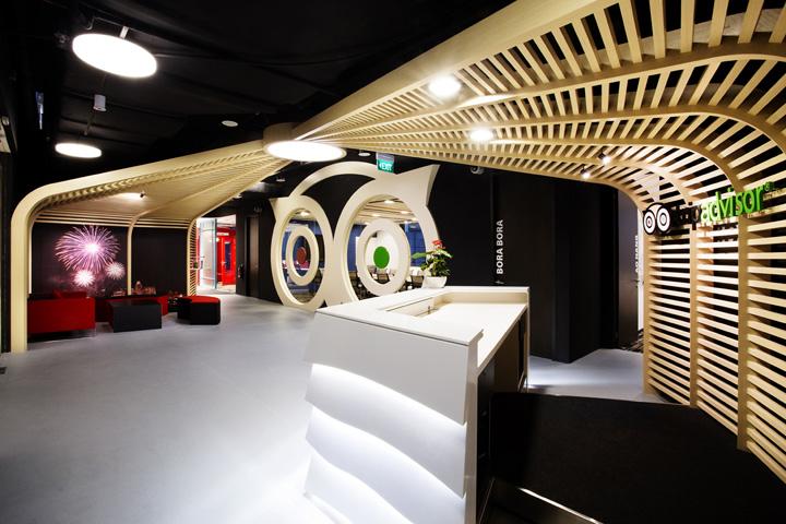 上海写字楼装潢- 人在旅途:TripAdvisor旅游网站办公室设计