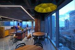 <b>上海办公楼装潢-现代化设计风格办公设计图片</b>