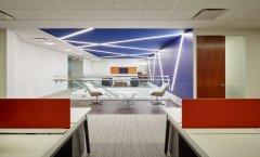 上海办公楼装修-复式楼办公室设计装修效果