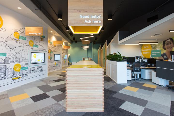 上海办公楼装修- 新西兰AMI办公室设计
