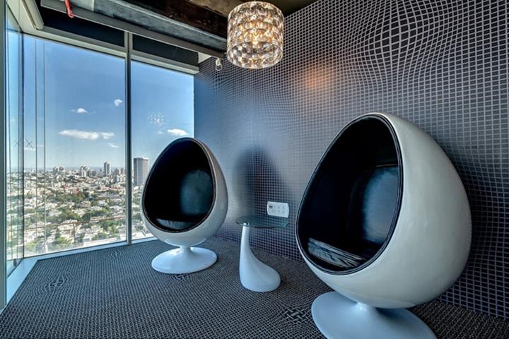 上海办公楼装修- 特拉维夫谷歌办公室设计
