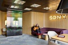 索尼音乐办公室设计装修效果图