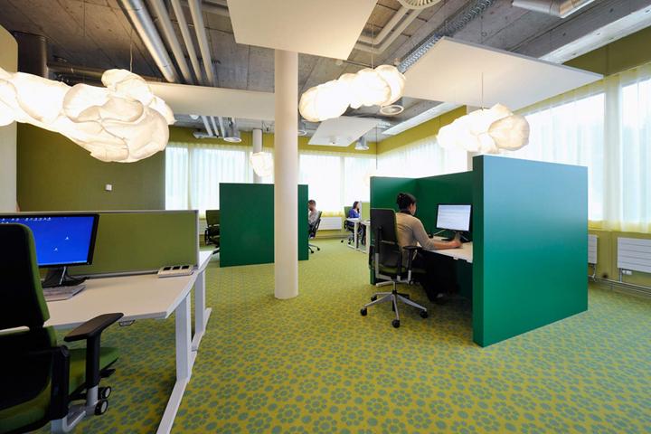 上海写字楼装修- 瑞士联合利华总部新办公室