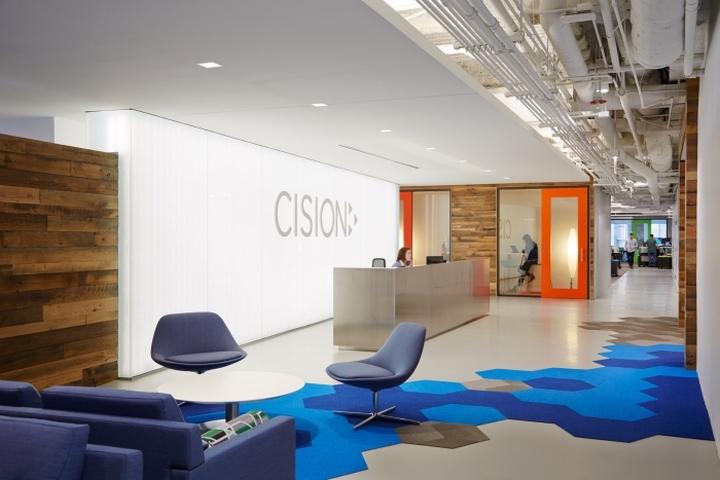 上海写字楼装潢- 软件开发商Cision办公空间设计